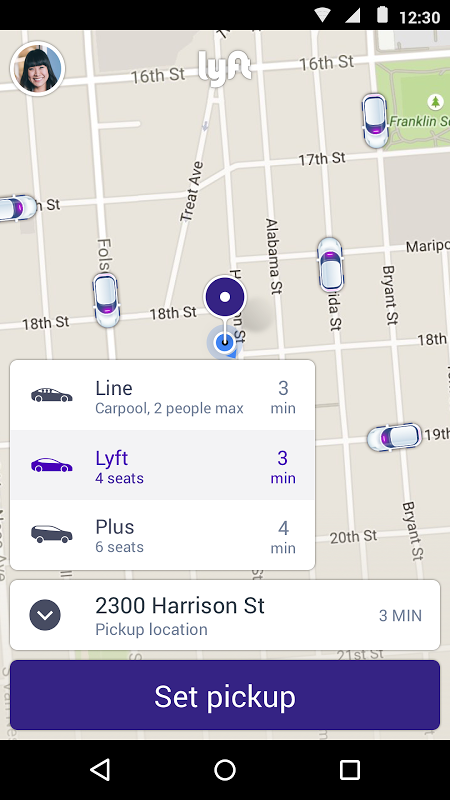 Lyft screenshot 1