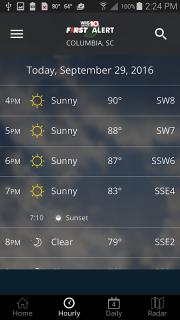 WIS News 10 FirstAlert Weather screenshot 4