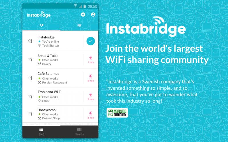 Free WiFi by Instabridge screenshot 1