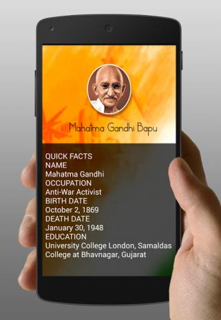 Mahatma Gandhi Biography 1 1 Download APK for Android Aptoide