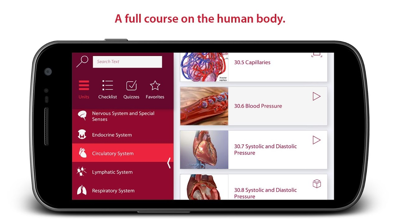 Anatomy & Physiology screenshot 1
