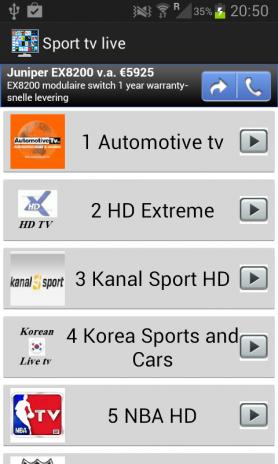 Sport tv Pro 1 5 Descargar APK para Android - Aptoide