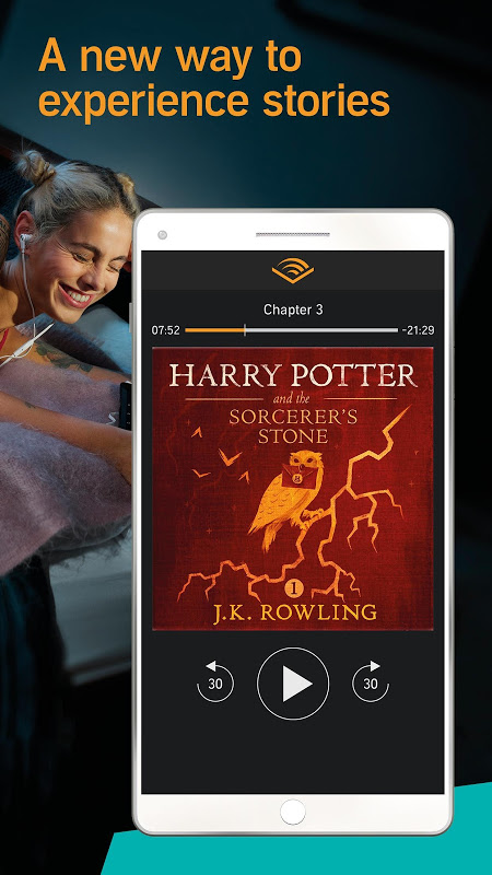 Audiobooks from Audible screenshot 1