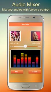 Audio MP3 Cutter Mix Converter screenshot 3