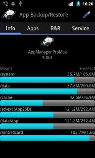 App Backup & Restore screenshot 1