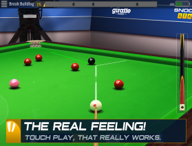 Snooker Stars Screenshot