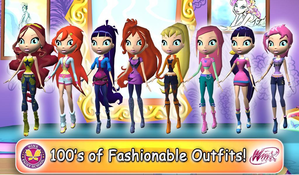 Winx Fairy School Lite screenshot 5