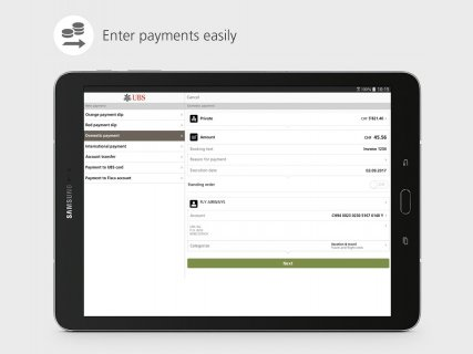 UBS Mobile Banking: e-banking for on the go screenshot 11