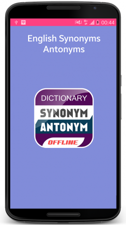 English Synonyms Antonyms 1 0 Download APK for Android - Aptoide