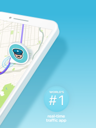 Waze - GPS, Maps, Traffic Alerts & Sat Nav screenshot 2