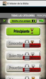 El Master de la Biblia Trivia screenshot 3
