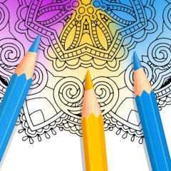 Colorfy Coloring Book Free Icon