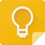 google keep notes and lists icon