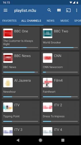 IPTV screenshot 1