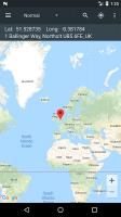Map Coordinates Screen