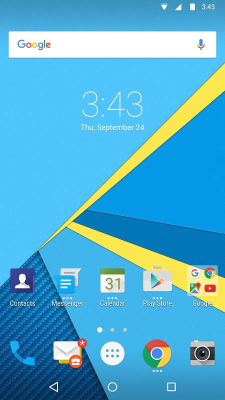 BlackBerry Launcher screenshot 1