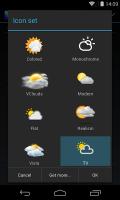 Chronus: TV Weather Icons Screen