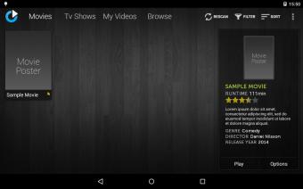 mVideoPlayer Screenshot
