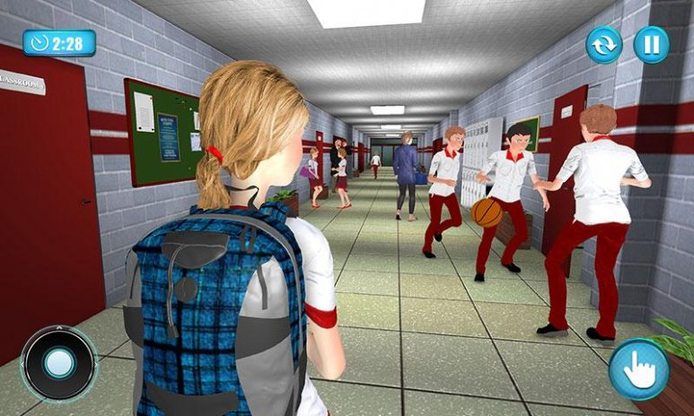 HighSchool Head Girl: Campus Life Simulator 1 1 Download APK