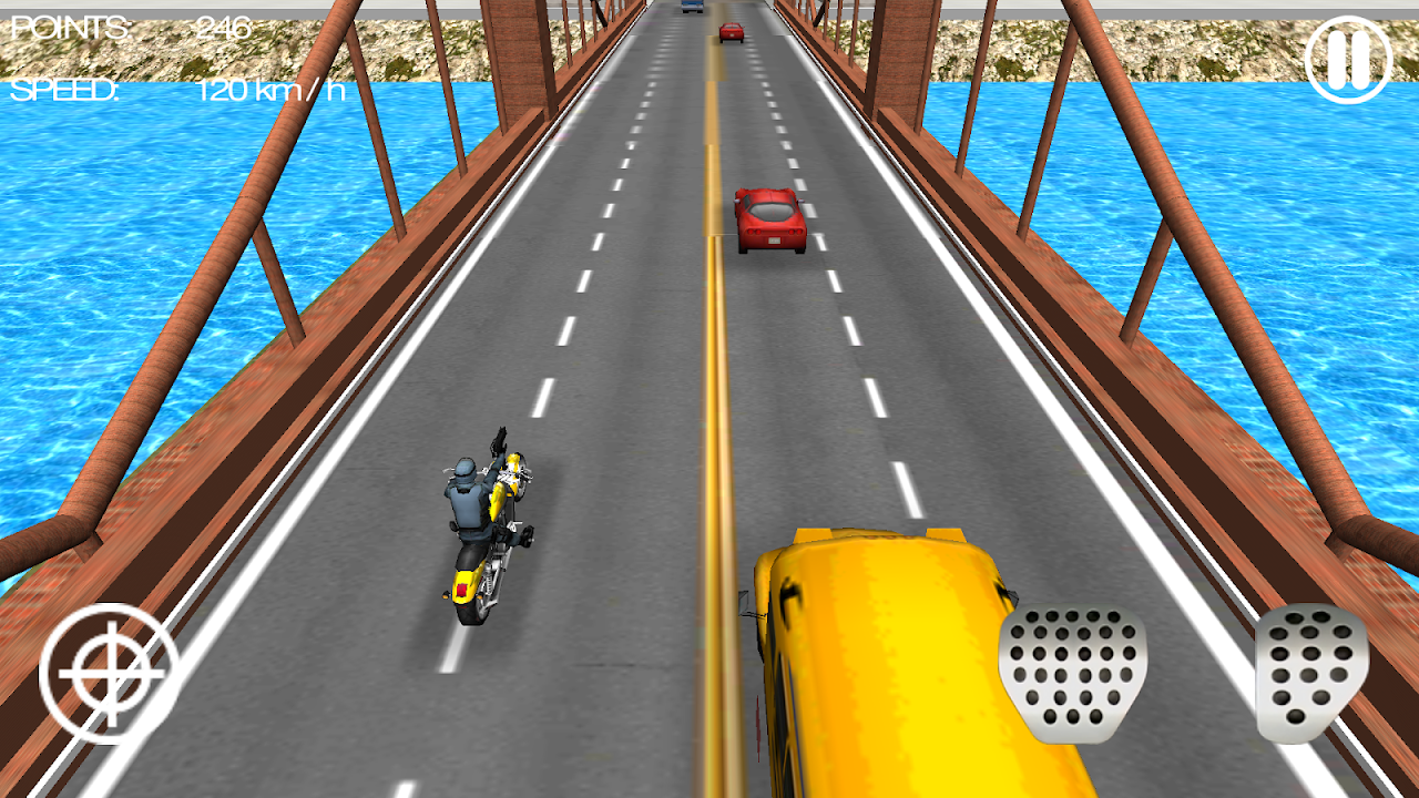 Moto Shooter 3D screenshot 1