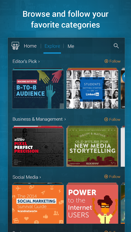 LinkedIn SlideShare screenshot 2