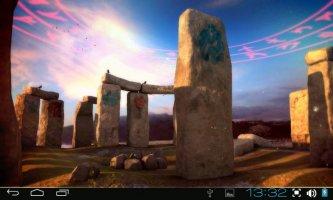 3D Stonehenge Pro lwp Screen