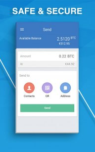 BTC.com - Bitcoin Wallet screenshot 3