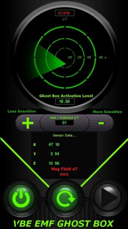 VBE EMF GHOST BOX RADAR 1 1 Download APK for Android - Aptoide