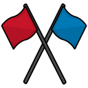 Flags War