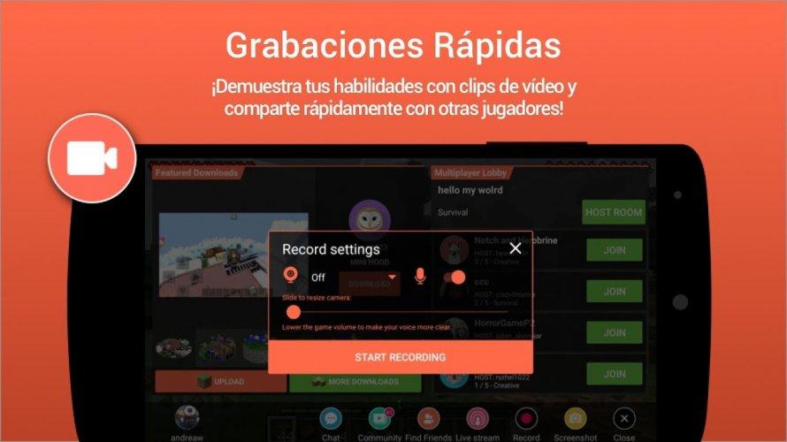 Omlet Arcade - Transmitir en vivo y grabar juegos screenshot 8