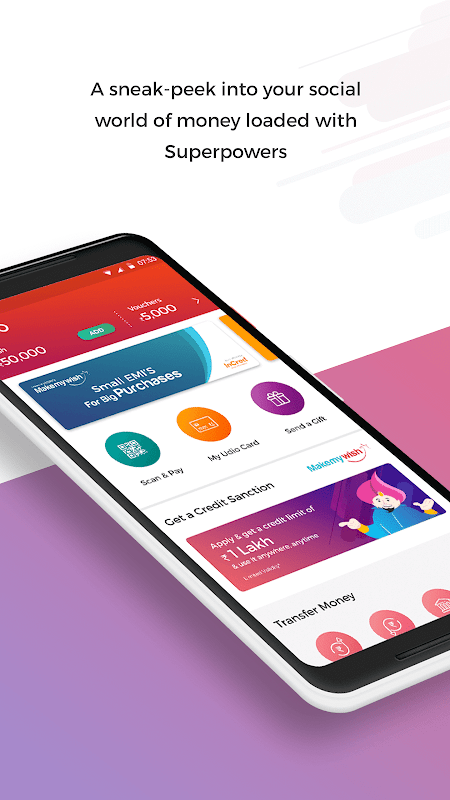 Udio - Wallet, Money Transfer, Recharge & Pay screenshot 1