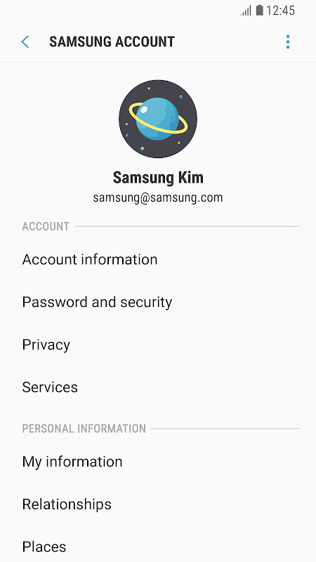 Samsung Experience Service screenshot 2