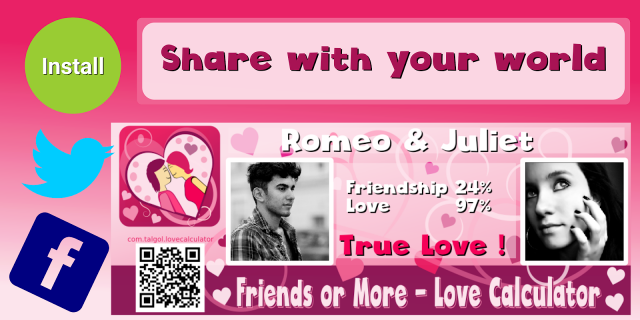 Friend or Love Calculator 1 3 Download APK for Android - Aptoide