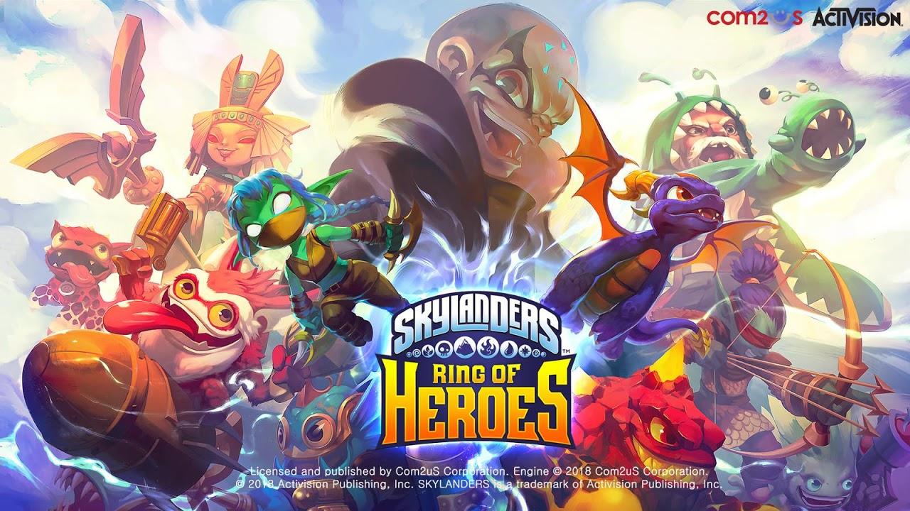 Skylanders™ Ring of Heroes screenshot 1