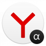 yandex browser alpha icon