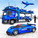 US Police Car Transport Games: Truck Driving Games