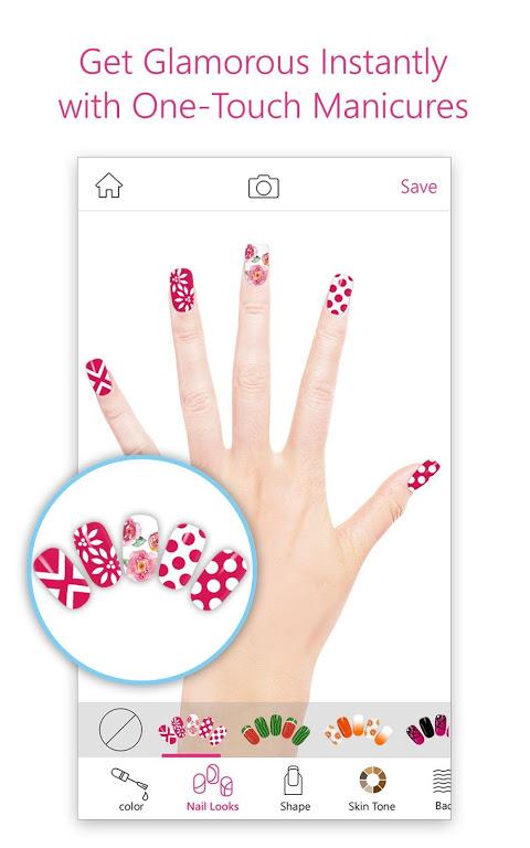 YouCam Nails - Manicure Salon for Custom Nail Art screenshot 2