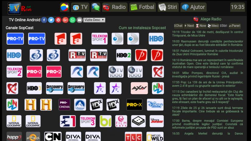 Tvron Tv Online Screenshot  Tvron Tv Online Screenshot