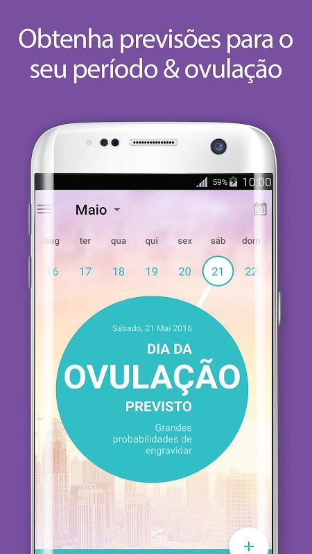 Calendário Menstrual Flo, Gravidez, Período Fértil screenshot 2