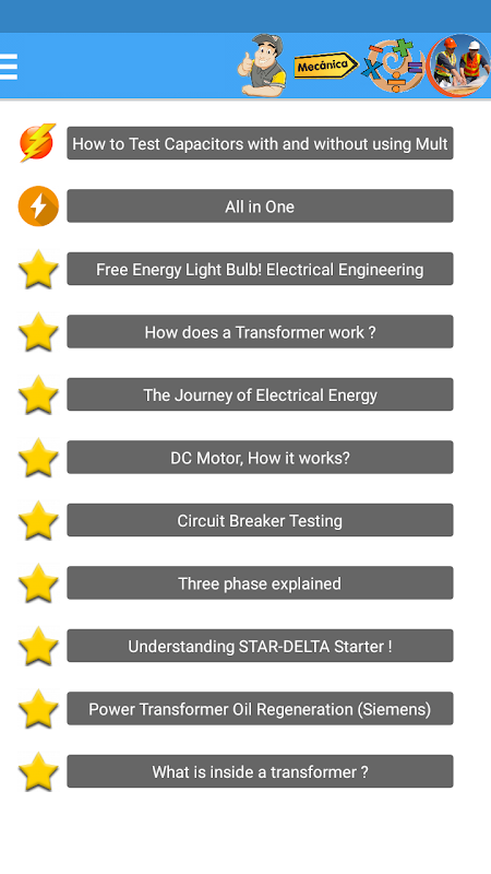 Learn electricity (All About It) screenshot 2