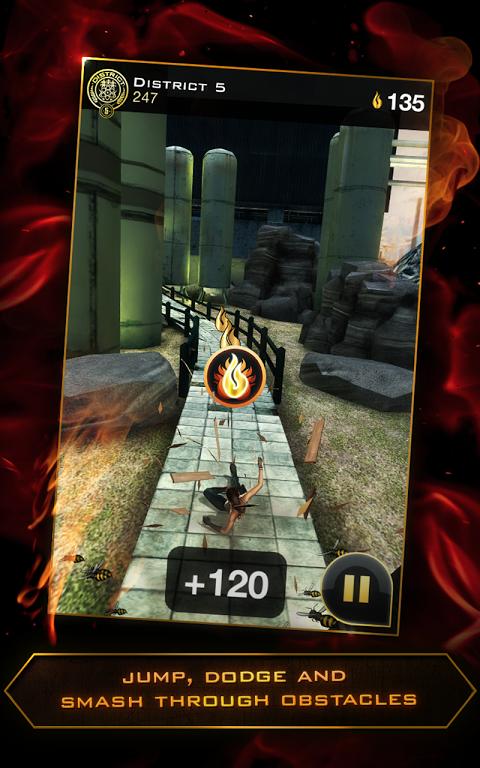 Hunger Games - Panem Run screenshot 1