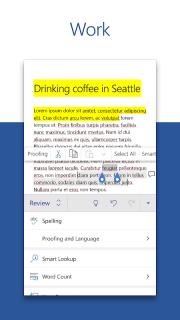 Microsoft Word: Write and edit docs on the go screenshot 3