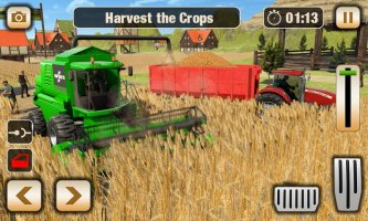 Real Tractor Driver Simulator - New Tractor Games Screen