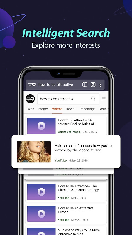 Private Browser - Best Android Incognito Browsing screenshot 2