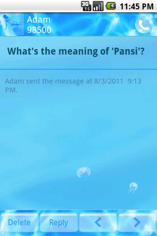 Pansi SMS Individual Setting Download APK for Android - Aptoide