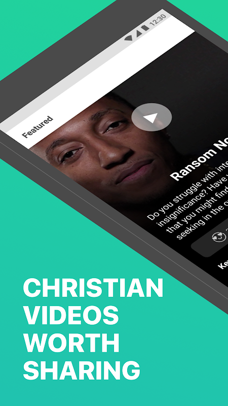 yesHEis: Christian Videos Worth Sharing screenshot 1