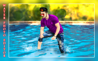 Water Photo Editor 2018 - Water Photo Frames New Screen