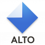 email organized by alto icon