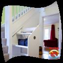spiral staircase storage