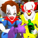 Clown Brothers. Neighbor Escape 3D
